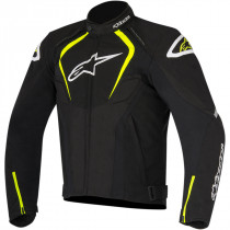 T-JAWS WP SPORT RIDING JACKET BLACK/YELLOW
