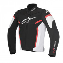 T-GP PLUS R V2 SPORT RIDING JACKET BLACK/WHITE/RED