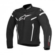 T-GP PLUS R V2 SPORT RIDING JACKET BLACK/WHITE