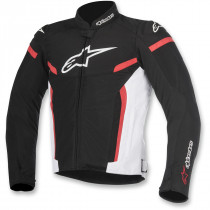 T-GP PLUS R V2 AIR SPORT RIDING JACKET BLACK/WHITE/RED