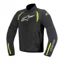 3304016-155 AST AIR SPORT RIDING JACKET BLACK/FLO YELLOW