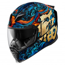 AIRFLITE™ GOOD FORTUNE™ HELMET BLUE/GOLD