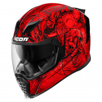 AIRFLITE™ KROM™ HELMET RED/BLACK