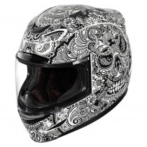 AIRMADA™ CHANTILLY™ HELMET BLACK/WHITE