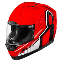 ALLIANCE™ OVERLORD™ HELMET RED/BLACK