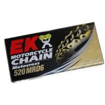 Kett EK Motocross racing  520 MRD6 118 L GOLD-GOLD