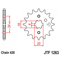 Ketihammasratas ees  JTF 1263-17