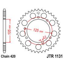 Ketihammasratas taga JTR 1131-50