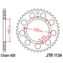 Ketihammasratas taga JTR 1134-50