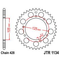 Ketihammasratas taga JTR 1134-54