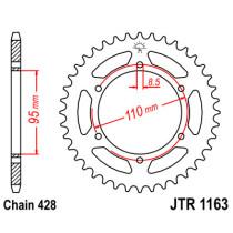 Ketihammasratas taga JTR 1163-45