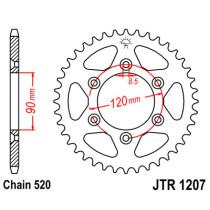 Ketihammasratas taga JTR 1207-39
