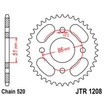 Ketihammasratas taga JTR 1208-44