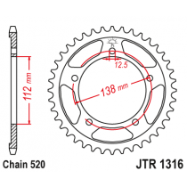 Rear sprocket JTR1316