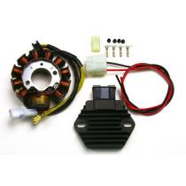 Mootorratta generaator G145 + Pingeregulaator RR58