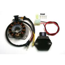 Mootorratta generaator G147+ Pingeregulaator RR58