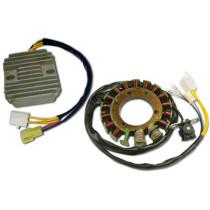 Mootorratta generaator G443 + Pingeregulaator RR17