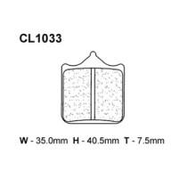 Piduriklotsid 1033C59(C55)