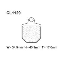 Piduriklotsid 1129MX10(XC7)
