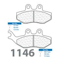 Piduriklotsid 1146EN10(XE7)