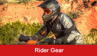helmets and rider apparel